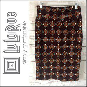 *3/$18*LuLaRoe Printed Azure Maxi Skirt